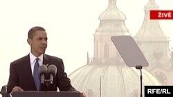 Барак Обама: выступление у Пражского Града