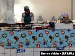 На ташкентском рынке