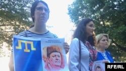 Акція солідарності з кримськими татарами в Празі, 18 травня 2017 року