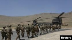 Солдати НАТО в Афганістані. Червень 2013 року