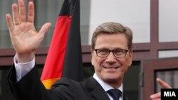 Ministri i Jashtëm gjerman Guido Westerwelle