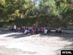 Кыргызстанские мигранты в Анталии.