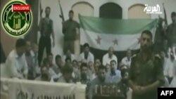 عکس گرفته شده از ویدئویی از گروگانهای ایرانی در دست مخالفان حکومت سوریه
