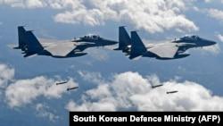 Жанубий Кореянинг F-15K учоқлари (иллюстратив сурат).