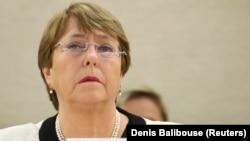 UN rights chief Michelle Bachelet