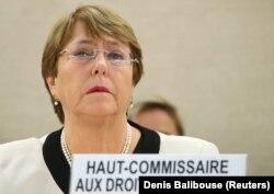 Верховний комісар ООН з прав людини Мішель Бачелет