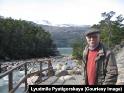 Александр Пятигорский в Чили, 2005. Фото Людмилы Пятигорской