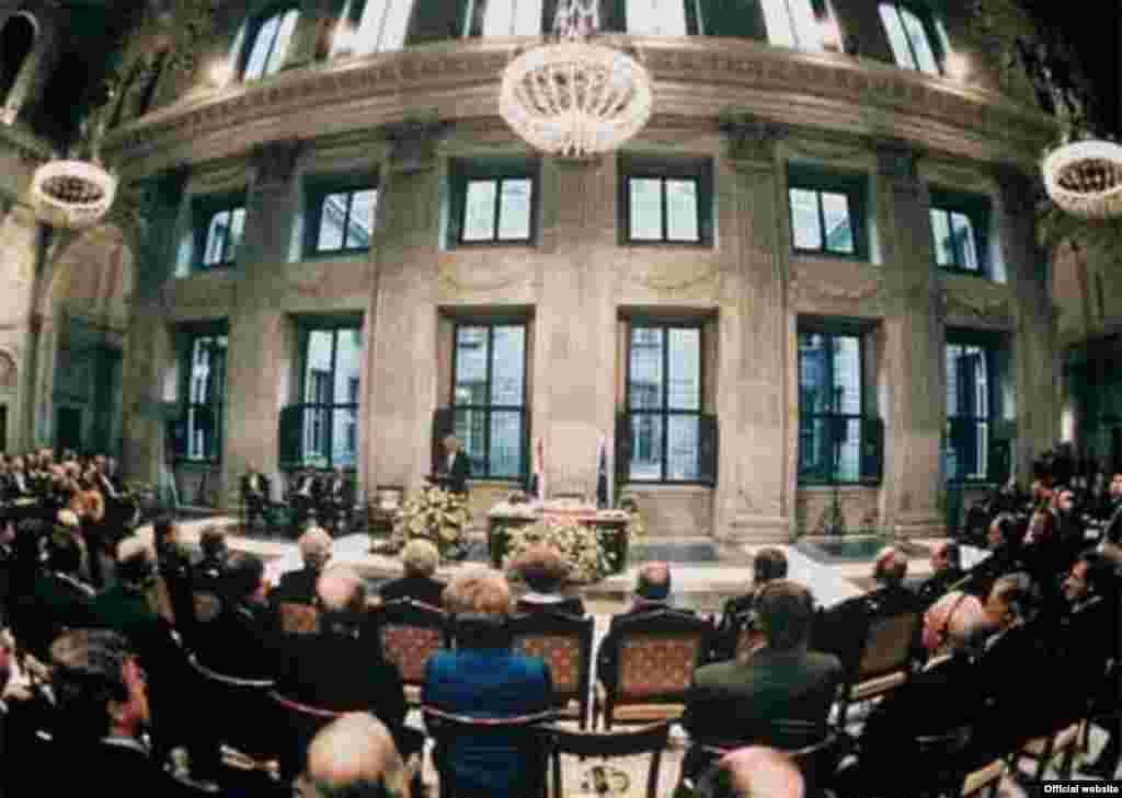 EU – The signing of Amsterdam Treaty, 02Oct1997-CHANGINGTITLE - EU50