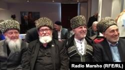 Прошлогоднее заседание Совета чеченских старейшин в Бросселе