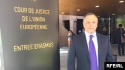 Андрій Портнов у Суді ЄС у Люксембурзі, архівне фото