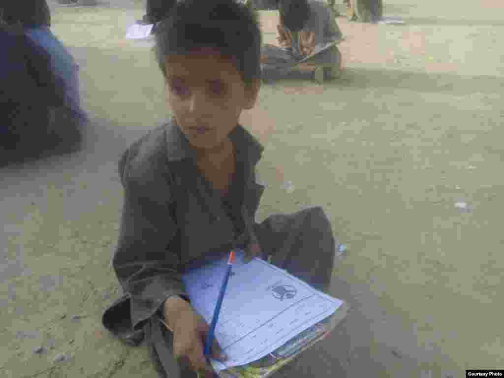Pakistan: Children at Afghan Refugees Camp in Saranan, Balochistan