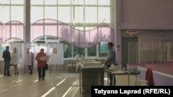 Избирательный участок в Красноярске