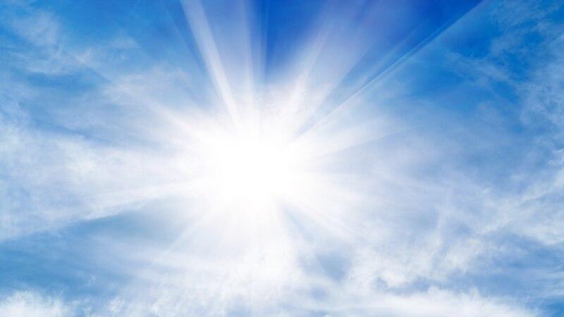 Времето денеска  сончево и многу топло