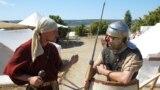 Часовой в лагере римских легионеров