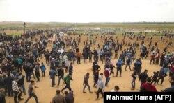 Газа тилкеси. 30-март