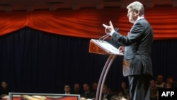 Viktor Yuşşenko öz seçki proqramını açıqlayır, 23 noyabr 2009