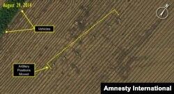 """Спутниковые фото из доклада """"Эмнести Интернешнл"""""""