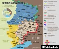 Сытуацыя на Ўсходзе Ўкраіны