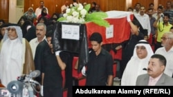 جنازة رمزية لضحايا المقابر الجماعية