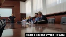 Nikola Gruevski u sudinici Apelacionog suda