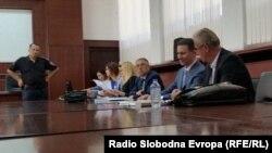 Поранешниот премиер Никола Груевски во Апелациониот суд во Скопје