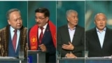 Kazakhstan - TV debate before the snap election
