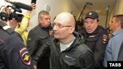 Александр Горбунов в суде. 9 сентября 2015 года