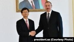 Menq Jianzu və İlham Əliyev, 22.05.2016