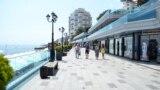 Ялта в первый день курортного сезона, 1 июля 2020 года