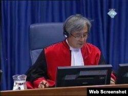 Sudija O Ghon Kwon u Tribunalu u hagu na suđenju Vojislavu Šešelju, ICTY, 22. februar 2011.