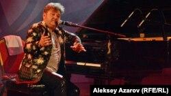 Пианист-виртуоз Леонид Пташка из Израиля выступает на международном фестивале джаза. Алматы, 30 марта 2017 года.