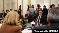 Konferencija predsednika parlamenata zemalja i članica Jadransko jonske inicijative, Beograd, 26. april 2012.