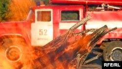 """Площадь возгорания нат предприятии """"Агроэкология"""" составила 800 квадратных метров"""