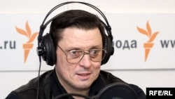 Сергей Романенко в студии Радио Свобода