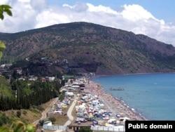 Крымский пляж.