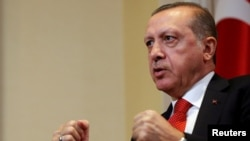 Turkish President Recep Tayyip Erdogan has launched a widening crackdown on dissent since a failed coup against him in July.