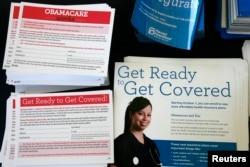 Рекламные материалы закона о доступном медицинском обслуживании