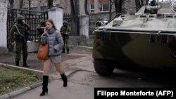 Симферополь, март 2014 года