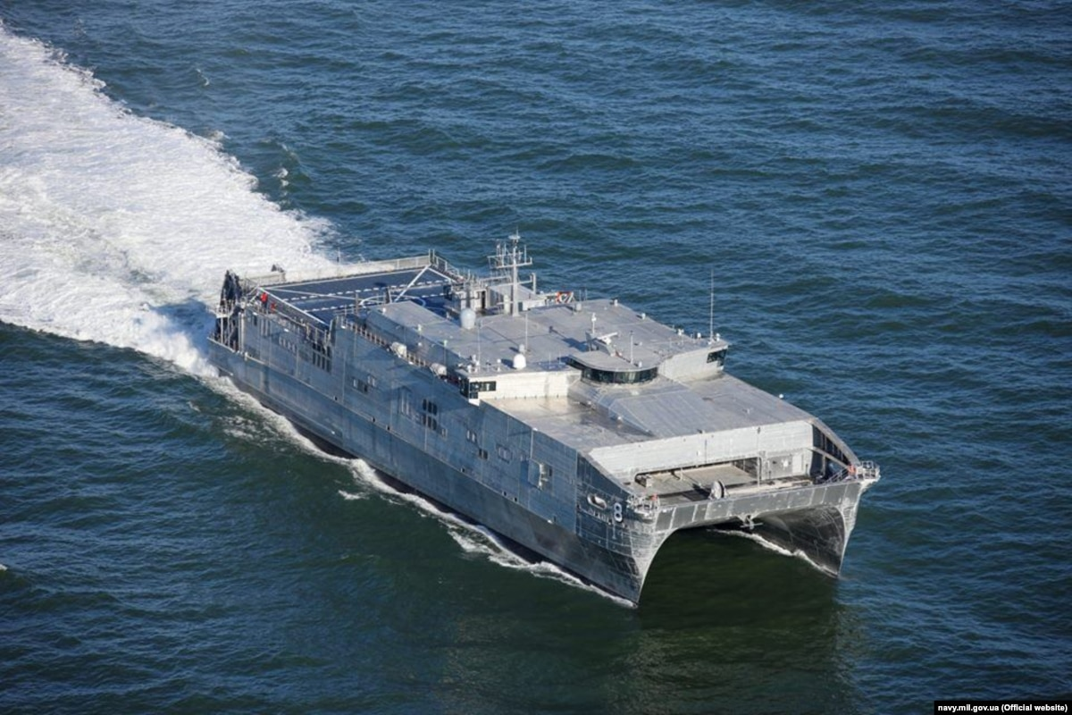 В Украину прибыл корабль обеспечения США – ВМС