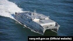 16 сентября быстроходное военно-транспортное судно США «Юма» не смогло войти в грузинский порт Поти