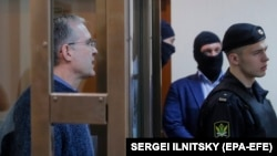 Пол Уилан в зале суда, Москва, сентябрь 2019 года