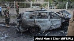 محل یک حمله انتخاری در عراق (عکس آرشیو)