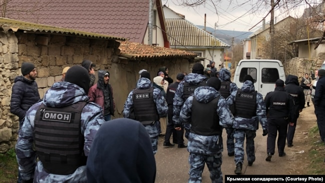 Обыск в Бахчисарае, март 2020 года (иллюстрационное фото)