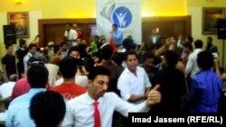 جانب من الاحتفال بتأسيس اتحاد الطلبة