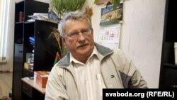 Алег Давыдзюк, кіраўнік Беларускага культурнага цэнтру ў Вісагінасе