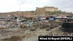 كركوك:موقع جسر الشهداء بعد ازالته