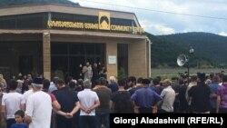 Акция протеста в Панкисском ущелье