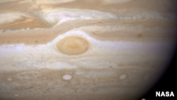 It's not Jupiter (pictured), just an incredible alien simulation.