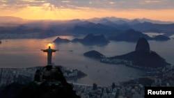 Pogled na Rio de Žaneiro, 2. avgust 2016.