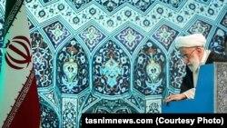 Iran -- Tehran Friday Prayer leader Ayatollah Ahmad Jannati, on Friday, December 25, 2015.